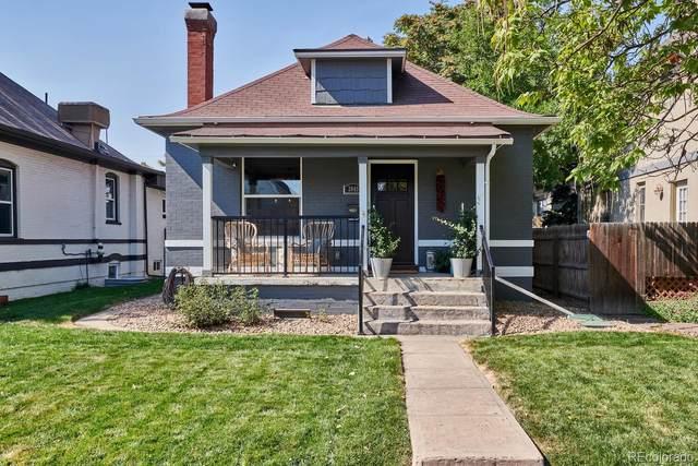 3049 N Vine Street, Denver, CO 80205 (#8202874) :: Real Estate Professionals