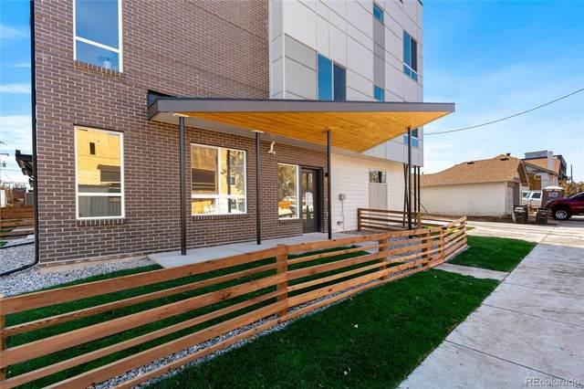 3520 W Conejos Place #3, Denver, CO 80204 (#8203136) :: Venterra Real Estate LLC