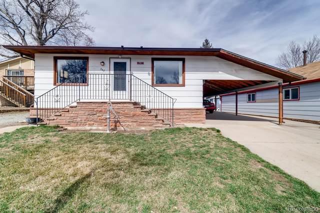 348 Evans Street, Lyons, CO 80540 (#8206437) :: The Harling Team @ Homesmart Realty Group