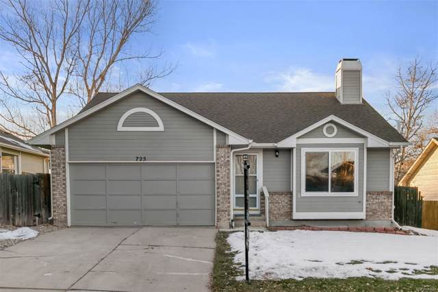 725 Howe Street, Castle Rock, CO 80104 (#8206913) :: The Griffith Home Team