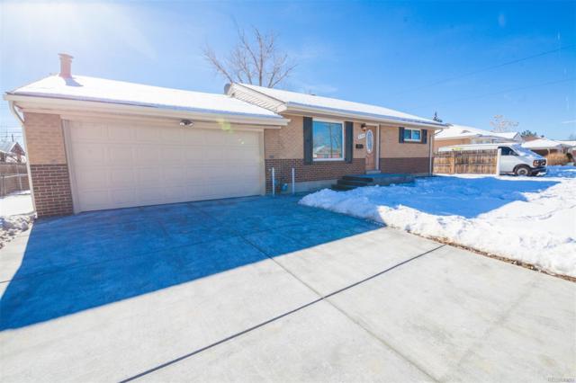 890 W 70th Place, Denver, CO 80221 (MLS #8207576) :: 8z Real Estate