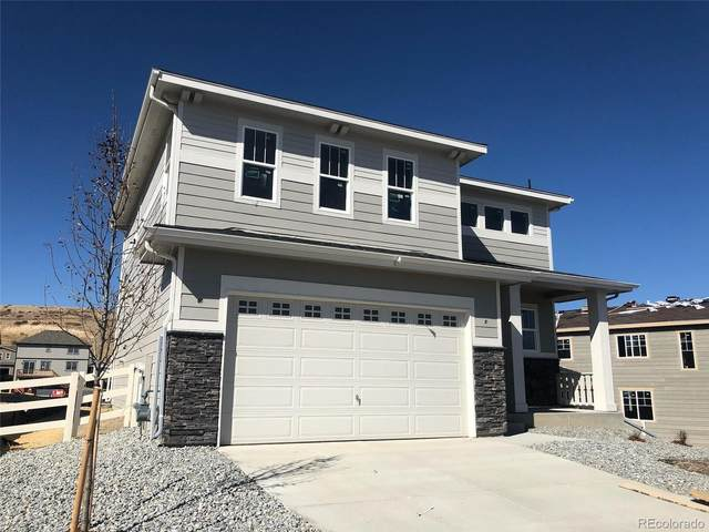 3734 Makley Circle, Castle Rock, CO 80104 (#8210292) :: iHomes Colorado