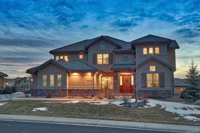 9649 S Shadow Hill Circle, Lone Tree, CO 80124 (#8211833) :: The Peak Properties Group