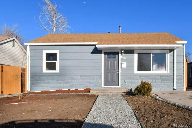 848 S Quitman, Denver, CO 80219 (#8216409) :: The HomeSmiths Team - Keller Williams