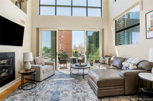 360 S Lafayette Street #401, Denver, CO 80209 (#8216965) :: The Griffith Home Team