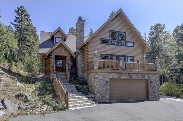 8584 Armadillo Trail, Evergreen, CO 80439 (MLS #8218536) :: 8z Real Estate