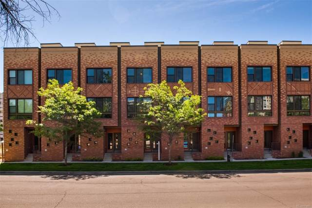 2200 Tremont Place #8, Denver, CO 80205 (#8219794) :: The DeGrood Team