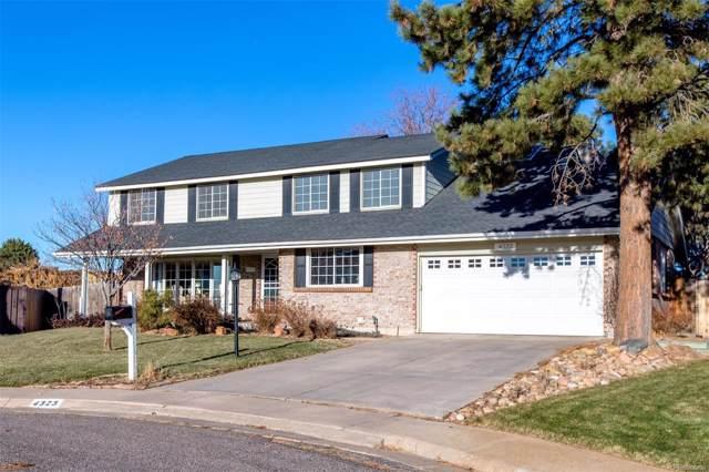 4323 E Links Parkway, Centennial, CO 80122 (MLS #8219988) :: 8z Real Estate