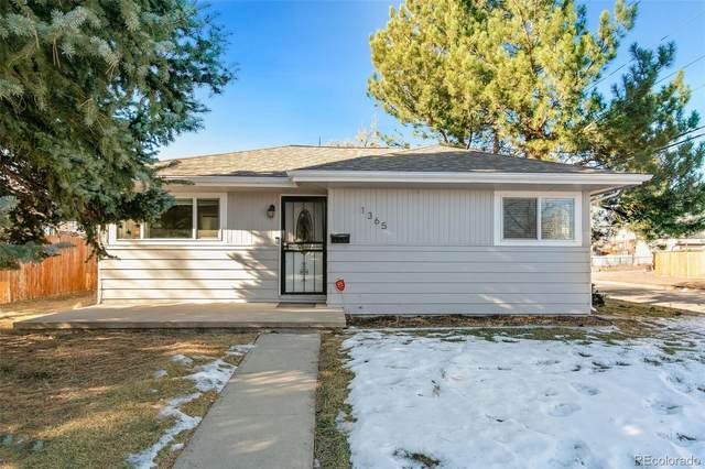 1365 Valentia Street, Denver, CO 80220 (#8220013) :: Venterra Real Estate LLC
