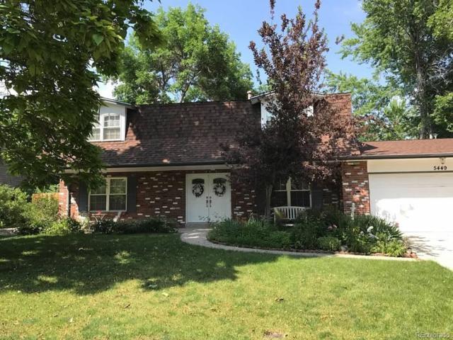 5449 W Geddes Avenue, Littleton, CO 80128 (MLS #8228764) :: 8z Real Estate
