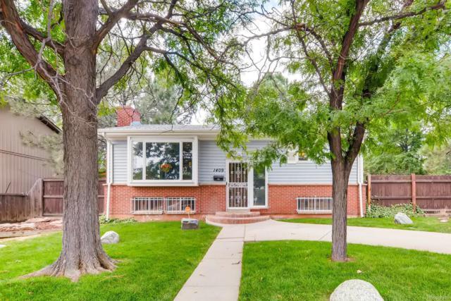 1409 S Reed Street, Lakewood, CO 80232 (#8230935) :: The Peak Properties Group