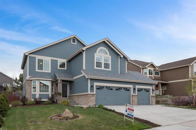 1582 Rosemary Drive, Castle Rock, CO 80109 (#8231047) :: House Hunters Colorado