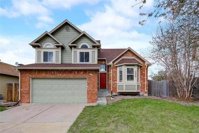 208 S Amherst Street, Castle Rock, CO 80104 (#8238970) :: Chateaux Realty Group