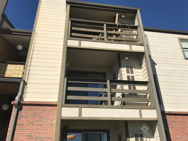 539 Wright Street #207, Lakewood, CO 80228 (MLS #8241864) :: 8z Real Estate