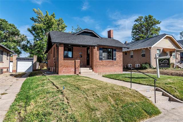 1434 Cherry Street, Denver, CO 80220 (#8242613) :: The Griffith Home Team