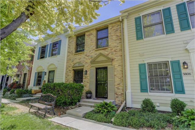 5808 E 10th Avenue, Denver, CO 80220 (#8243555) :: Wisdom Real Estate