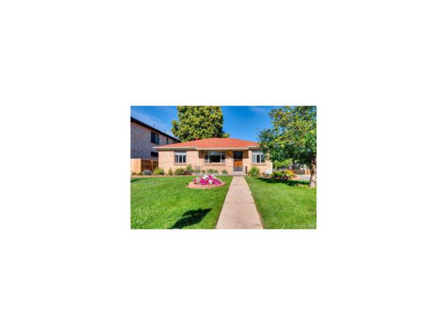 1203 S Garfield Street, Denver, CO 80210 (#8244240) :: Wisdom Real Estate