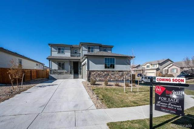 131 Pioneer Place, Brighton, CO 80601 (MLS #8250041) :: The Sam Biller Home Team