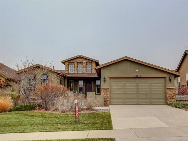 12016 S Allerton Circle, Parker, CO 80138 (MLS #8253323) :: 8z Real Estate