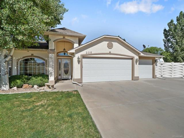 206 Round Rock Circle, Grand Junction, CO 81503 (MLS #8258750) :: 8z Real Estate