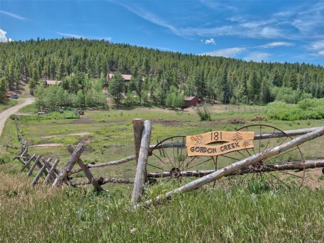 181 Gordon Creek Road, Boulder, CO 80302 (#8259808) :: The Peak Properties Group
