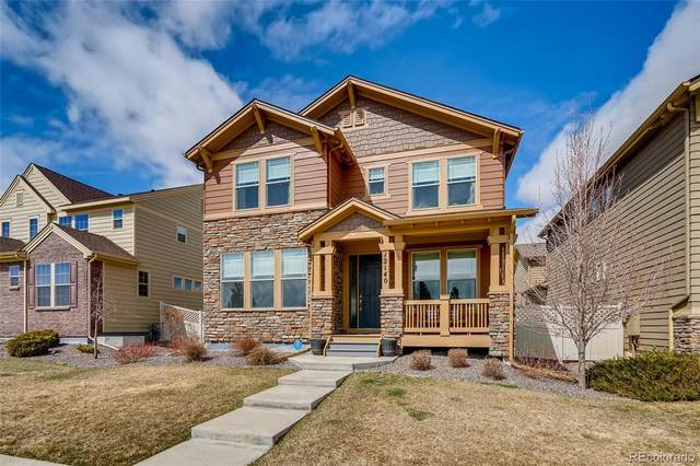 12140 S Wanderlust Way, Parker, CO 80138 (#8267557) :: The Harling Team @ HomeSmart