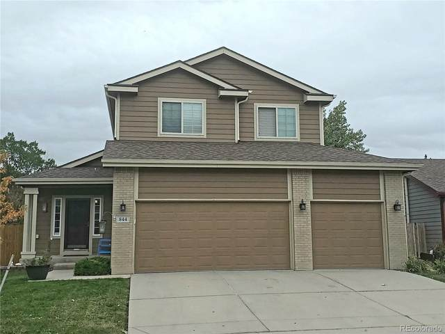 844 Fairhaven St, Castle Rock, CO 80104 (#8272733) :: Kimberly Austin Properties