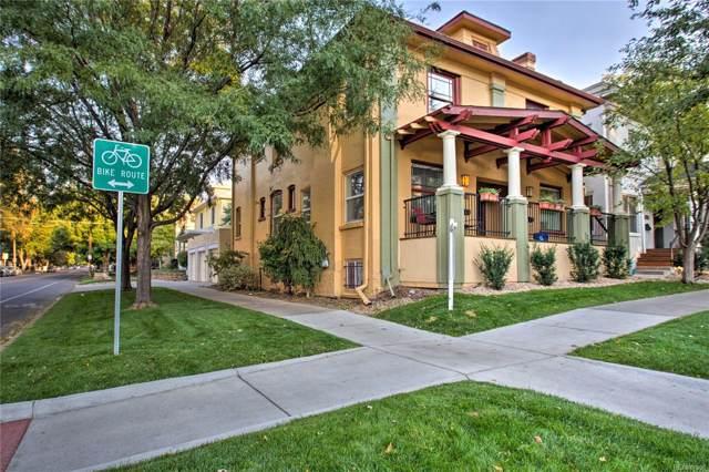 1598 N Franklin Street, Denver, CO 80218 (#8273325) :: The Peak Properties Group