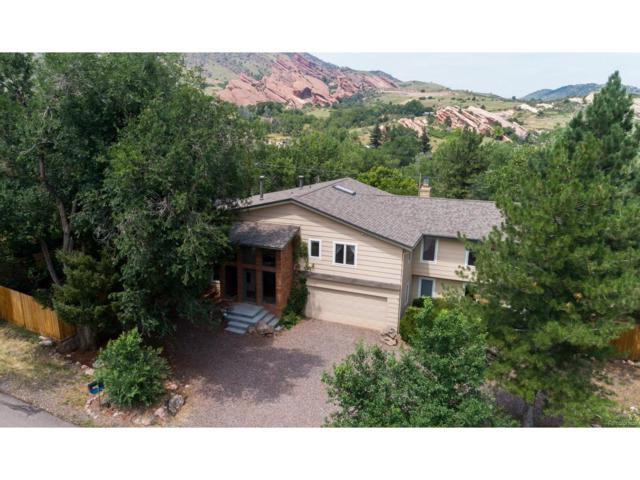 121 Red Rocks Vista Drive, Morrison, CO 80465 (MLS #8277420) :: 8z Real Estate