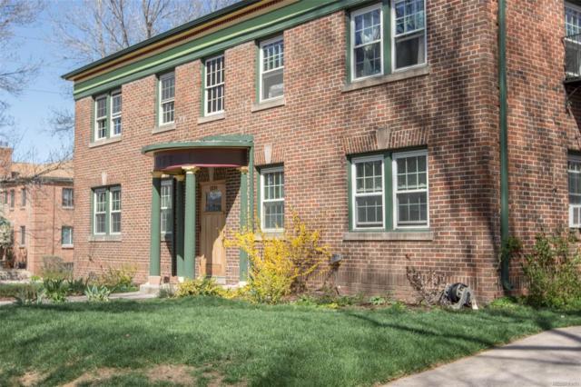 1374 Milwaukee Street #2, Denver, CO 80206 (#8281074) :: The Peak Properties Group