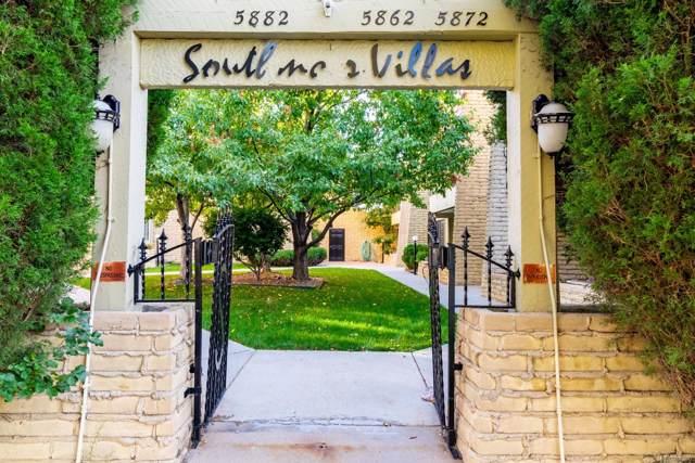 5862 E Ithaca Place #102, Denver, CO 80237 (MLS #8286306) :: 8z Real Estate