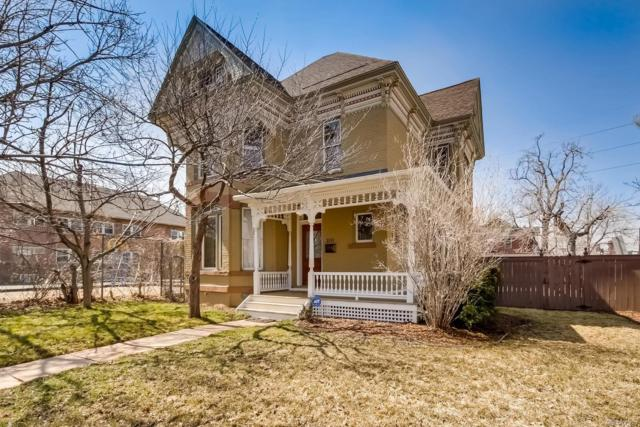 201 S Sherman Street, Denver, CO 80209 (#8288190) :: The Dixon Group