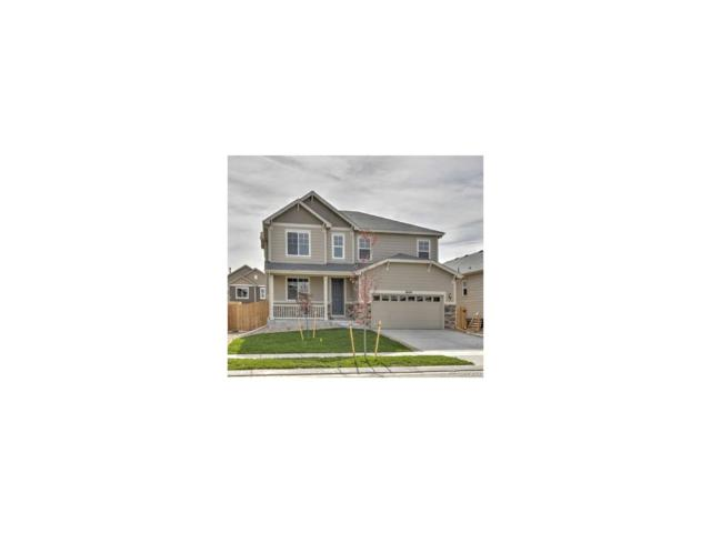 16334 E 101st Avenue, Commerce City, CO 80022 (#8289136) :: The Griffith Home Team