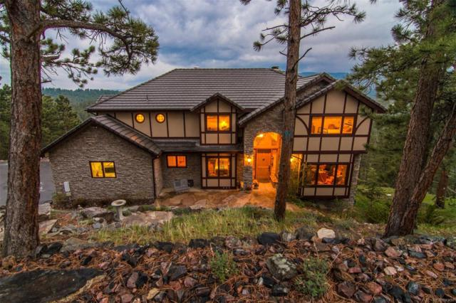 484 Humphrey Drive, Evergreen, CO 80439 (#8291618) :: The Peak Properties Group