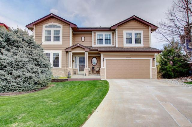 10596 Cottoneaster Way, Parker, CO 80134 (MLS #8293797) :: 8z Real Estate