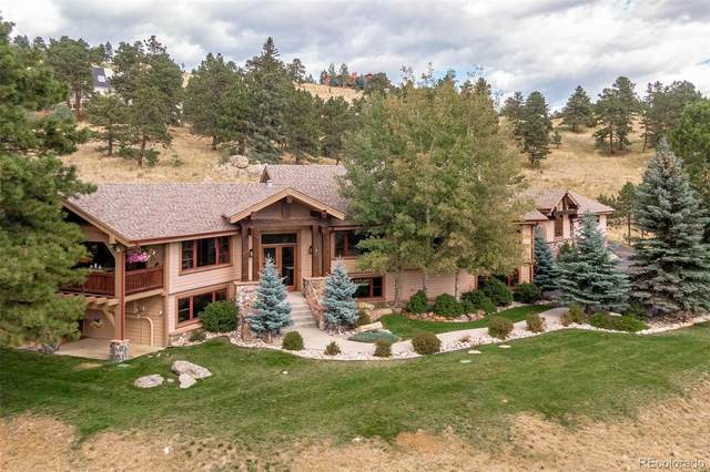 497 Meadow Vista Drive, Evergreen, CO 80439 (#8296262) :: The HomeSmiths Team - Keller Williams