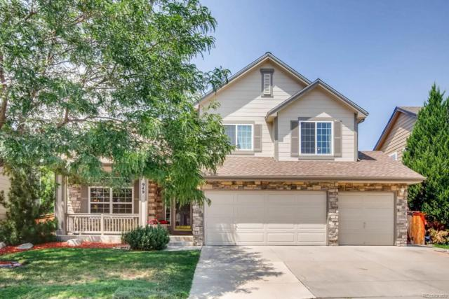 949 Sparrow Hawk Drive, Highlands Ranch, CO 80129 (MLS #8297952) :: The Biller Ringenberg Group