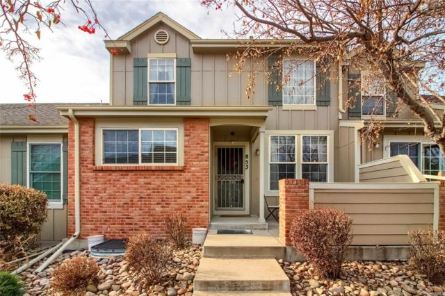853 S Evanston Circle, Aurora, CO 80012 (#8303676) :: The Galo Garrido Group