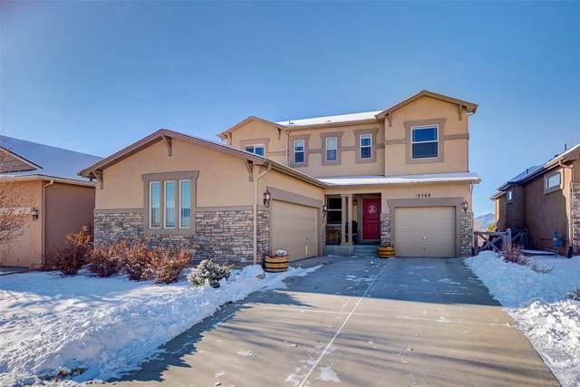 6568 Myrtle Creek Drive, Colorado Springs, CO 80927 (MLS #8310692) :: 8z Real Estate