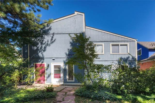 1717 Spruce Street #1, Boulder, CO 80302 (#8318097) :: The Heyl Group at Keller Williams