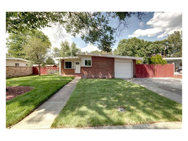 6009 Carr Street, Arvada, CO 80004 (#8319664) :: The Dixon Group