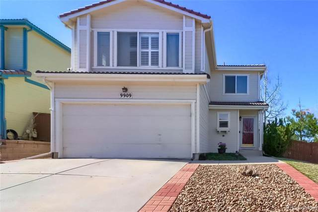 9909 Melbourne Place, Highlands Ranch, CO 80130 (#8320631) :: The Griffith Home Team