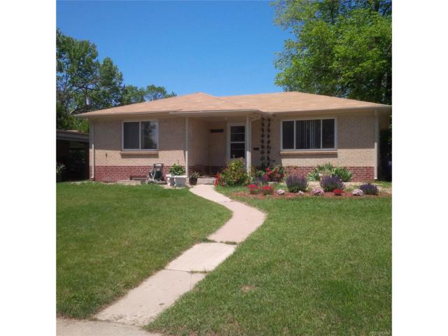4727 E Montana Place, Denver, CO 80222 (MLS #8323410) :: 8z Real Estate