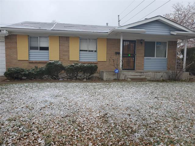 13370 E Tennessee Avenue, Aurora, CO 80012 (#8327594) :: James Crocker Team