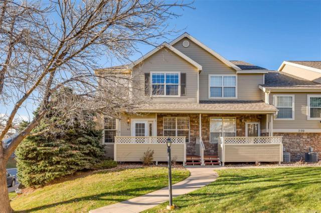 239 W Jamison Circle #42, Littleton, CO 80120 (#8328863) :: House Hunters Colorado