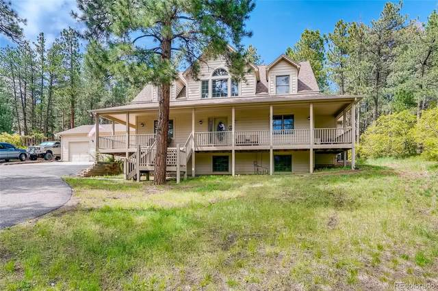 4305 Red Rock Drive, Larkspur, CO 80118 (#8331990) :: Own-Sweethome Team