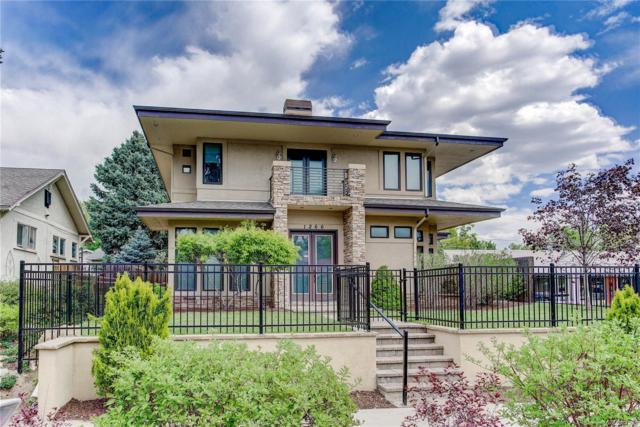 1266 S Clayton Street, Denver, CO 80210 (#8334799) :: The Pete Cook Home Group