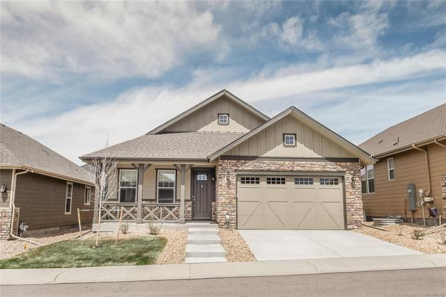 6715 Club Villa Road, Parker, CO 80134 (#8343287) :: The Peak Properties Group