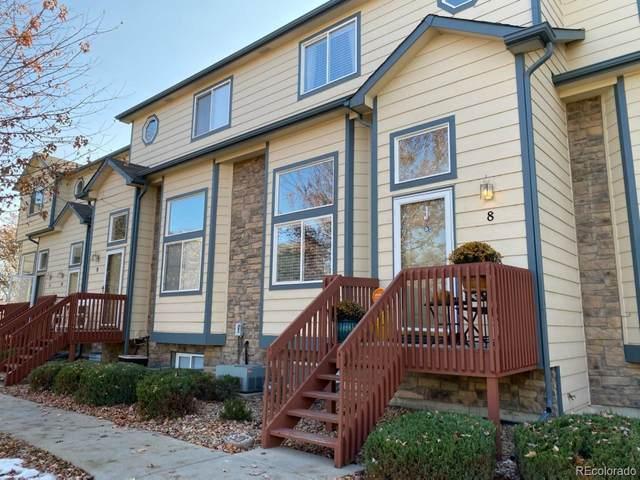 1101 21st Avenue #8, Longmont, CO 80501 (#8345805) :: Real Estate Professionals