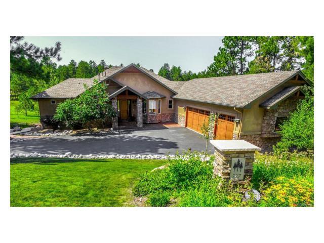 727 Cumberland Road, Larkspur, CO 80118 (MLS #8347904) :: 8z Real Estate